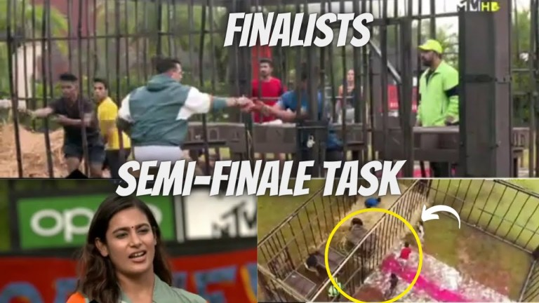 MTV Roadies Revolution Episode 35 Semi Finale Task