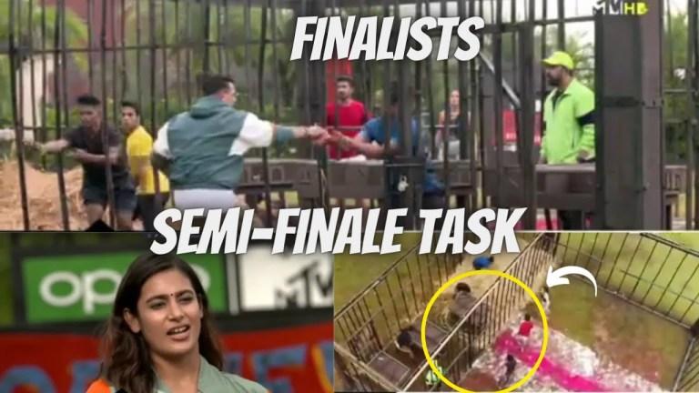 MTV Roadies Revolution Episode 35 Semi Finale Task