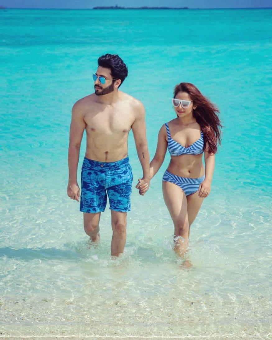 Dheeraj Dhoopar maldives