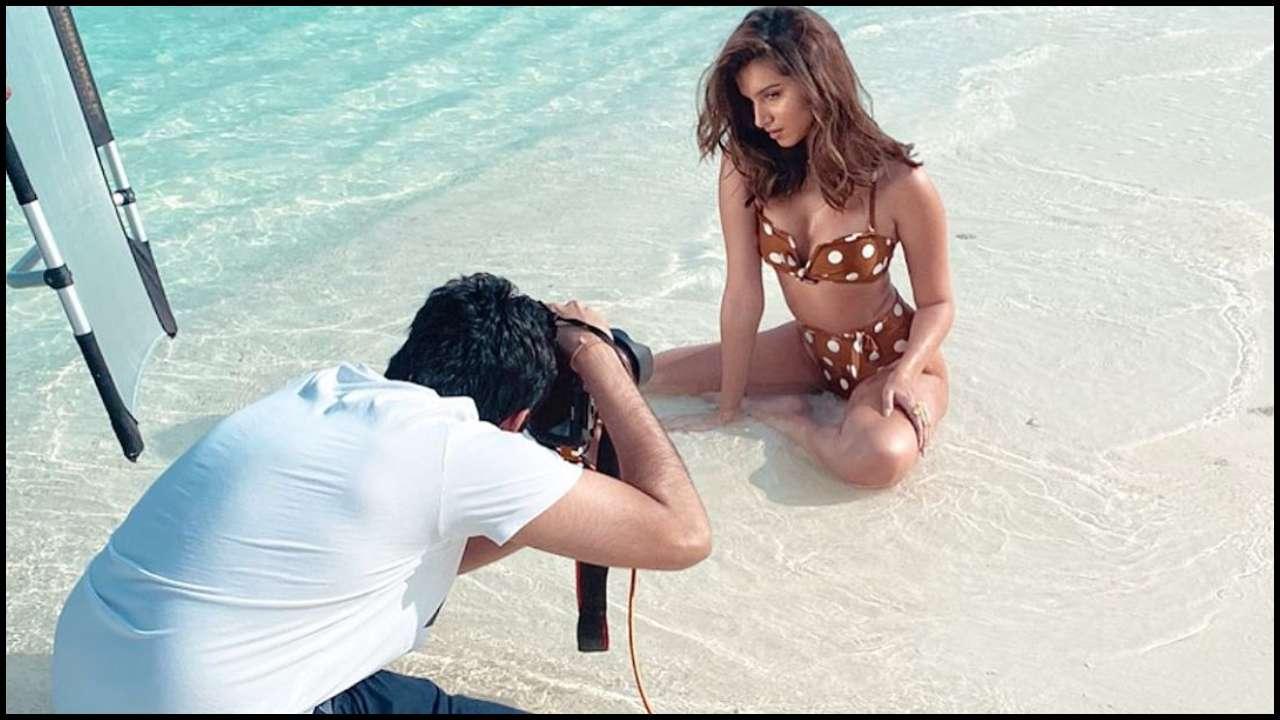 Tara Sutaria Maldives Vacations