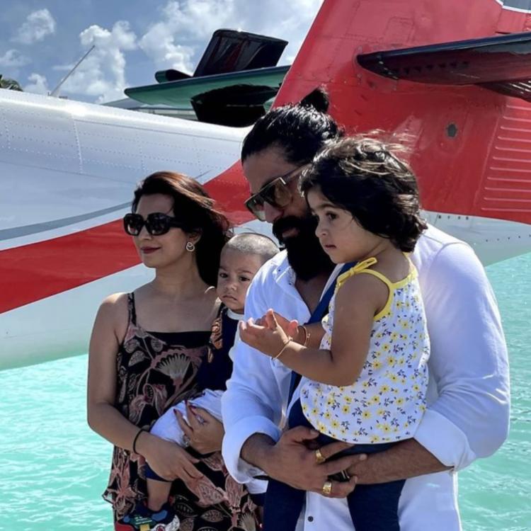 KGF Star Yash maldives