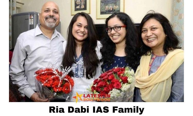 Ria Dabi IAS Family